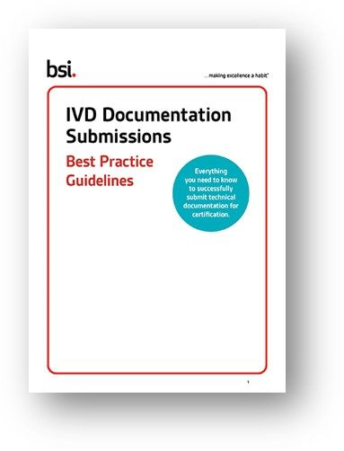 IVDD Documentation Submissions Best Practice Guidelines