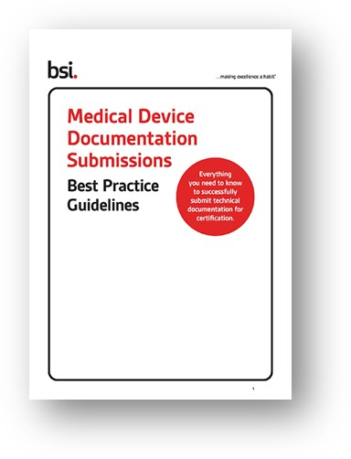 MDD Documentation Submissions Best Practice Guidelines