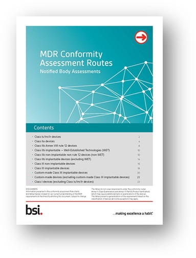 MDR Conformity Assessment Routes Guidance