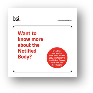 BSI Guide to Notified Body