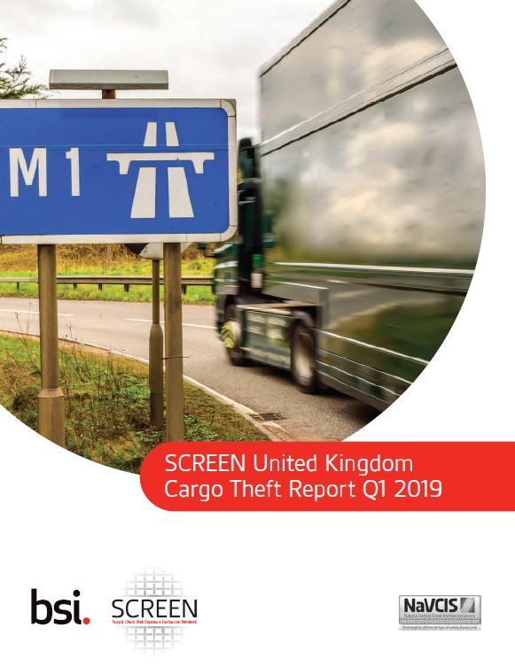 UK Cargo theft report 2019 q1