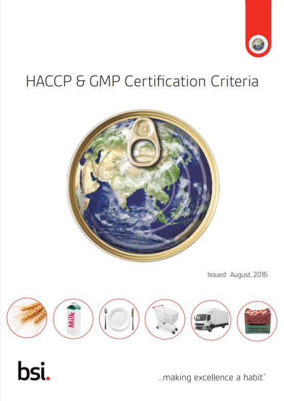 HACCP & GMP Certification Criteria | BSI Group South Africa