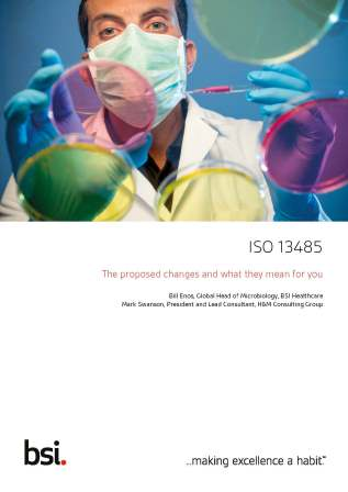 ISO 13485 - The proposed changes and what they mean for you