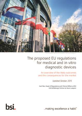 UPDATED - The proposed EU regulations for medical and in vitro diagnostic devices