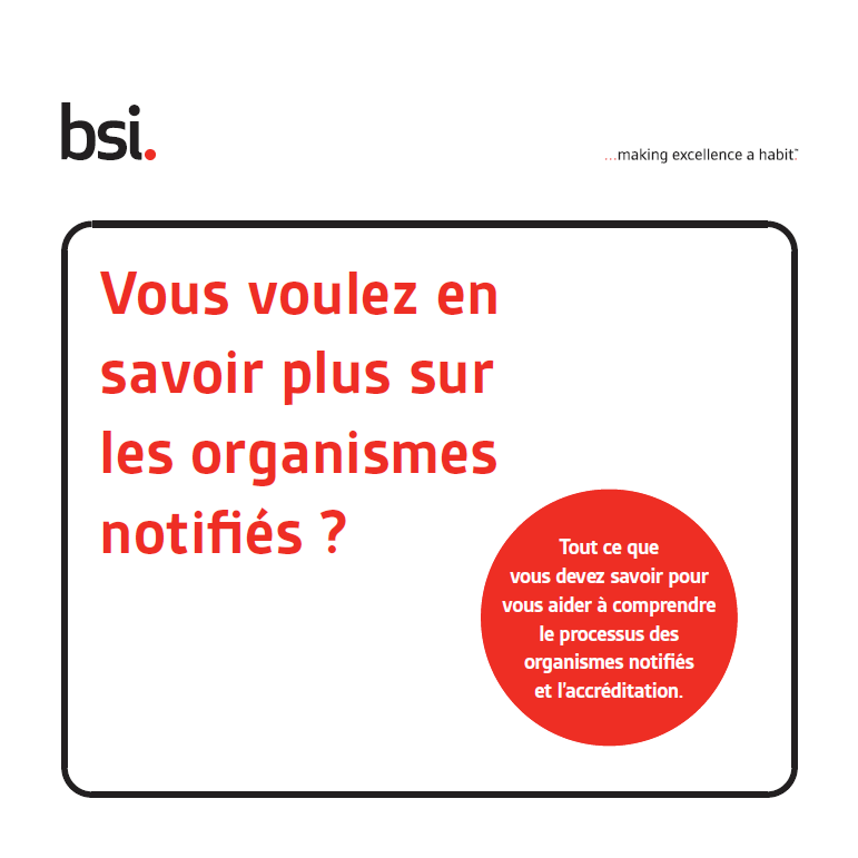 Guide BSI à l'intention des organismes notifiés