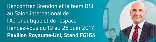 Salon aéronautique Paris 2017 BSI