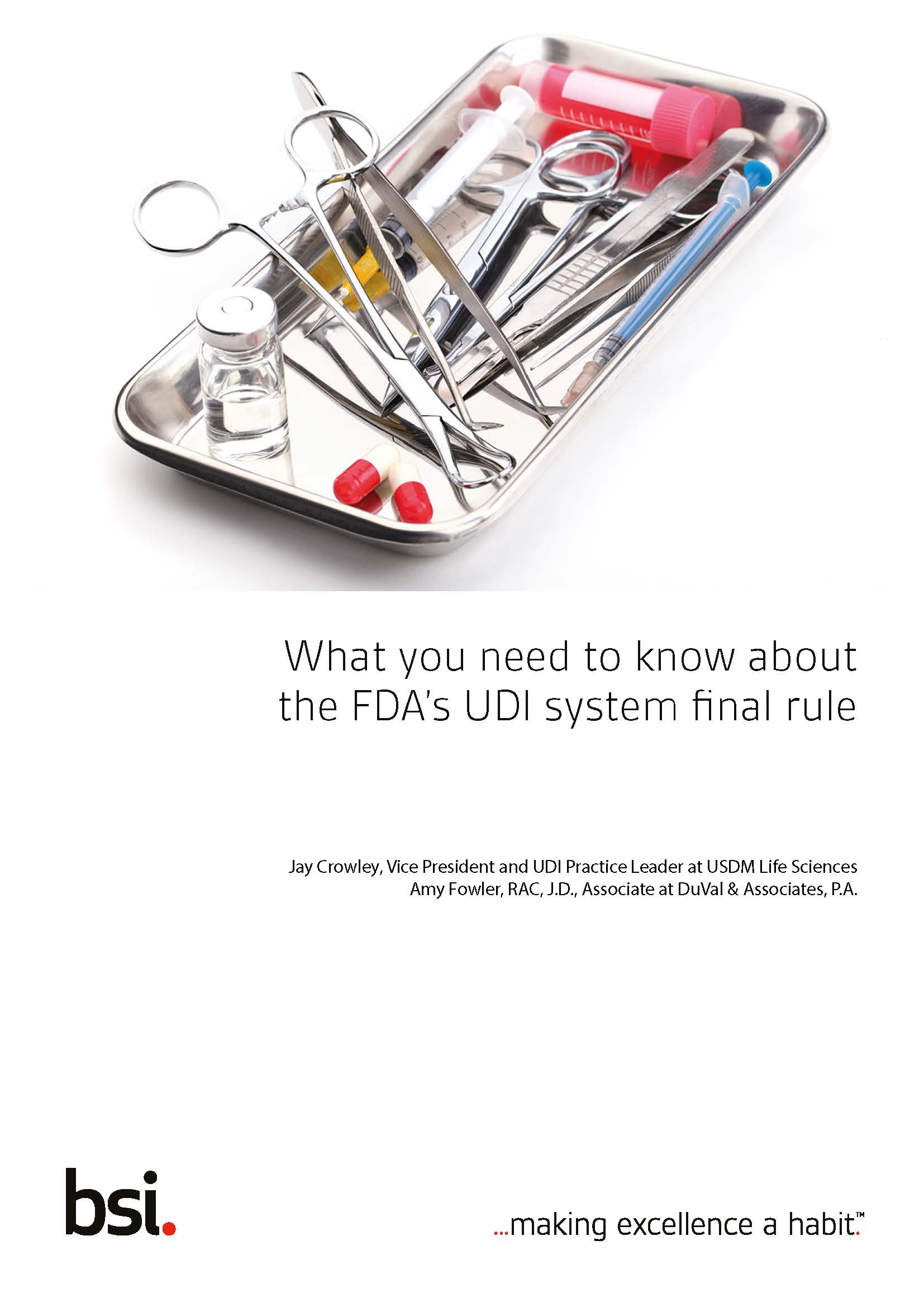 What you need to know about the FDA's UDI system final rule